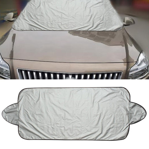 146 x 70cm Car Sunshade Sun shade Front Rear Window Film Windshield Visor Cover UV Protect Reflector Car-styling High Quality