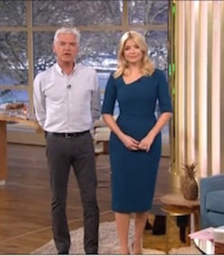 Holly Willoughby in cecily
