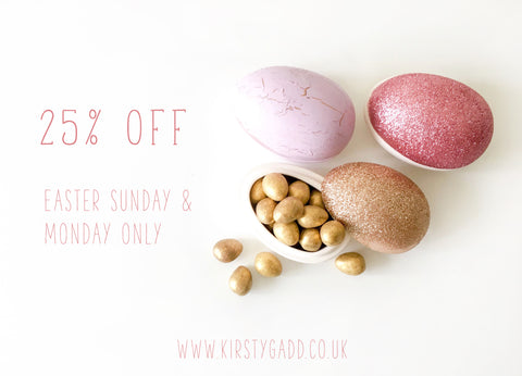 Kirsty Gadd Textiles 25% Easter Sale