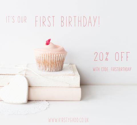Kirsty Gadd Textiles First Birthday