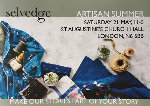 Kirsty Gadd Textiles - Selvedge Artisan Fair - May 2016