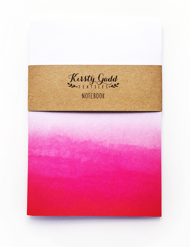 Hot Pink Ombre Notebook