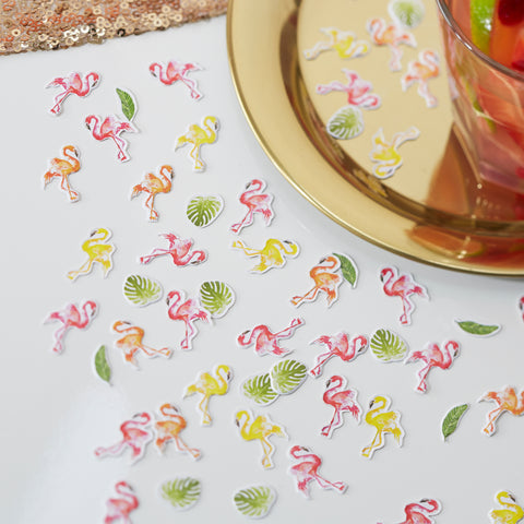 Flamingo Table Party Confetti