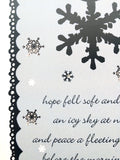Kirsty Gadd Textiles Chistmas Card Close Up