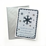 Snowflake Christmas Card - 8 Pack