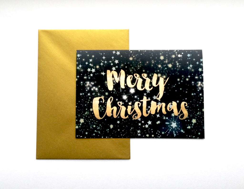 Kirsty Gadd Starry Galactic Christmas Cards 2