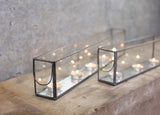 Kirsty Gadd Textiles -  Zinc Tea Light Box