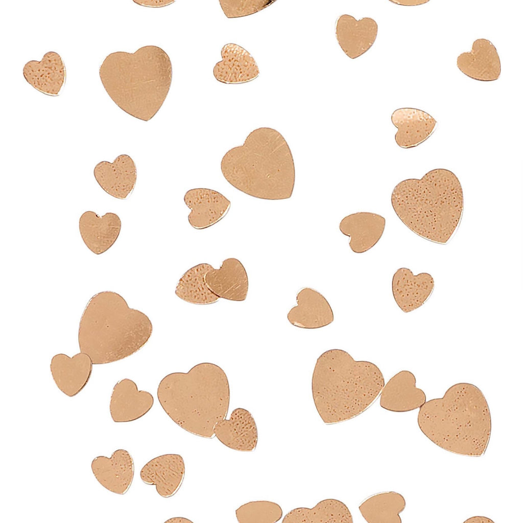 Rose Gold Heart Table Confetti Scatter - Hen Party, Bachelorette Party, Table Decor, Wedding Party, Engagement Party, Bridal Shower Ideas