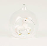 Unicorn Glass Bauble - Christmas Tree Decorative | Unicorn Lover | Stocking Filler | Christmas Gift Ideas | Magical Unicorn | Gift Boxed Christmas Gift Idea	Unicorn Gift Idea	Stocking Filler	Christmas Eve Box	Unicorn Prop	Christmas Bauble	Unicorn Bauble	Unicorn Gift	Boxed Gift Idea	Unicorn Christmas	Magical Christmas	Alternative Decor	Magical Unicorn