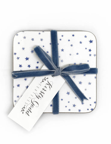 Blue Star Coaster - Pack of 4