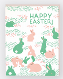 Neon Easter Card