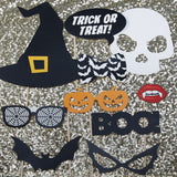 Halloween Photo Booth Props - Trick Or Treat Halloween Prop	Halloween Party	Spider Decoration	Jack O Lantern Prop	Scary Ghost Prop	Halloween Decor	Halloween Sign	Spooky Backdrop	Cobweb Prop	Trick or Treat Prop	Dracula Prop	Witch Prop	Skull Prop
