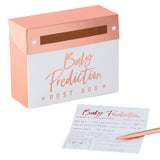 Baby Shower Prediction Box Game - 20 Cards
