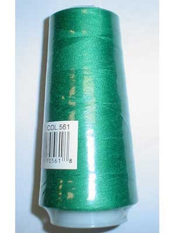 Countess Serger Thread, Polyester, 40/2, 1500M - Christmas Green 561