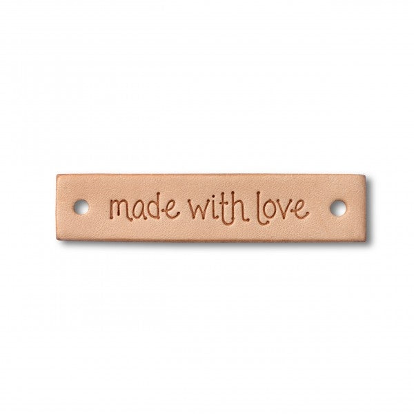 Made with Love Leather Label