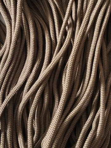 Braided Cord - Brown - Black Rabbit Fabric