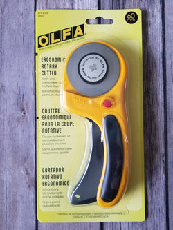 Olfa 60mm Ergonomic Rotary Cutter