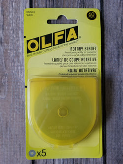 Olfa Replacement Blades For RTY3/G 60mm, 5Count