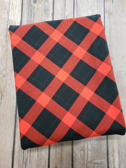Red Argyle Plaid