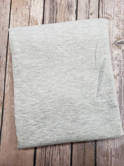 Heather Grey Bamboo Jersey Knit
