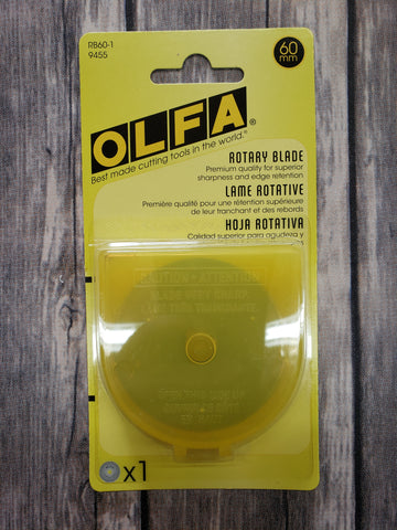 Olfa Replacement Blades For RTY3/G 60mm, 1Count