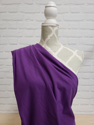 Royal Purple Cotton French Terry (MM Royal Purple)