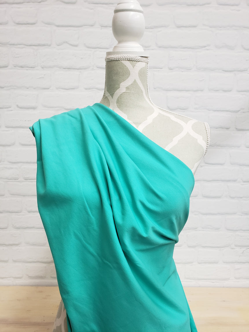 Mint Green Cotton French Terry