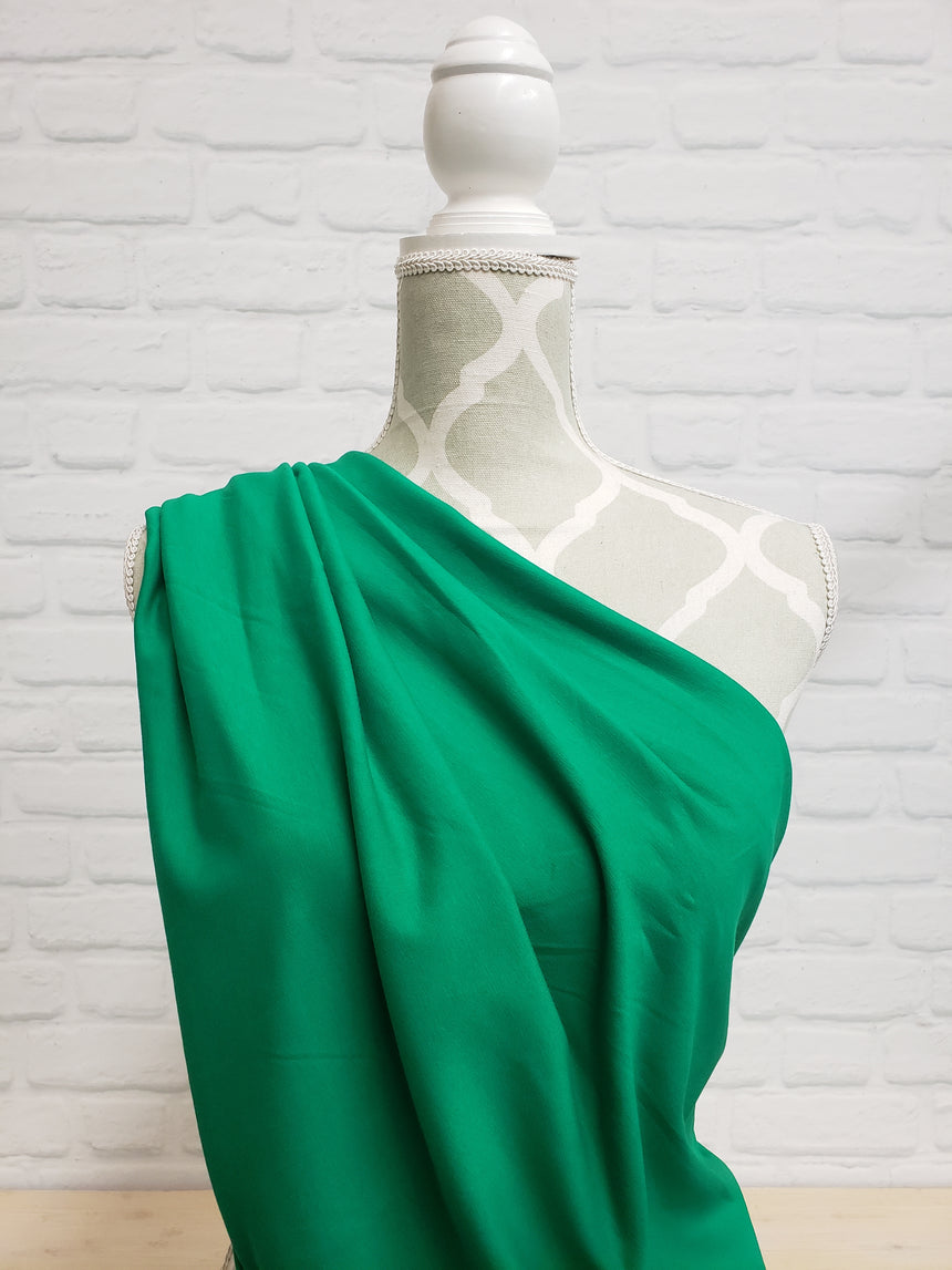 Kelly Green Cotton French Terry