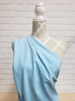 Light Blue Cotton French Terry (MM Baby Blue)