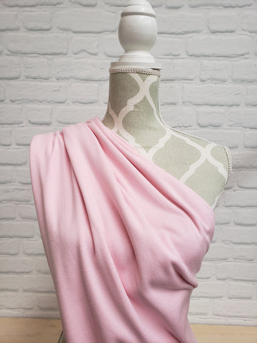 Bamboo Ribbing 2x2- Light Pink