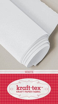 Kraft*tex - White by the half meter