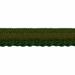 CREATIV DÉCOR Lip Cord 10mm - Olive (darker than photo)