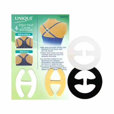 UNIQUE SEWING Strap Trap Assorted - 4pcs