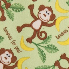 Babyville PUL Playful Friends Monkeys