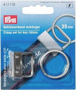 Prym Clasp Set For Key Ribbon , 25mm