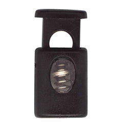 ELAN Barrel Cord Stop - 1 Hole - Black