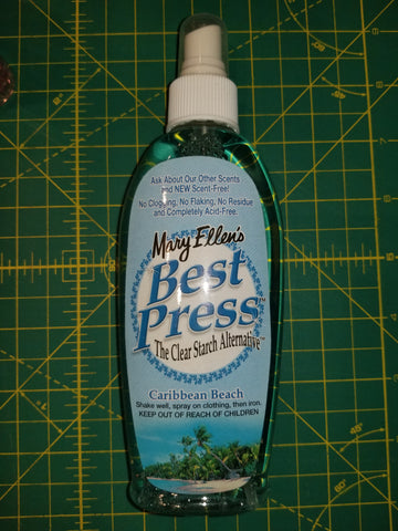 Best Press Spray Bottle - Caribbean Beach - Black Rabbit Fabric
