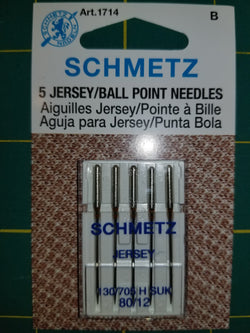 Schmetz Ball Point 80/12 - Black Rabbit Fabric