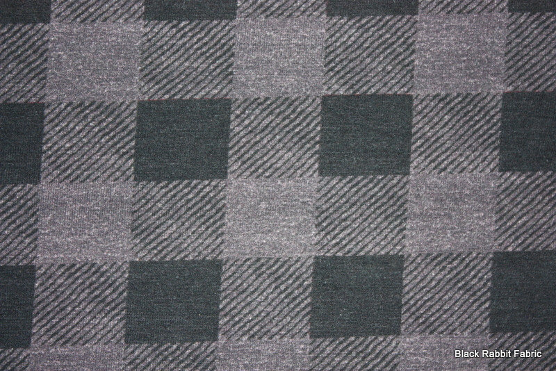Charcoal BP - Black Rabbit Fabric