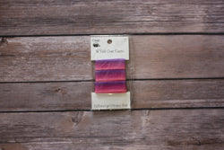 "5/8"" Stylish Fold-Over Elastic, 1 Yard, Ombre/Pinks/Purples - Black Rabbit Fabric"