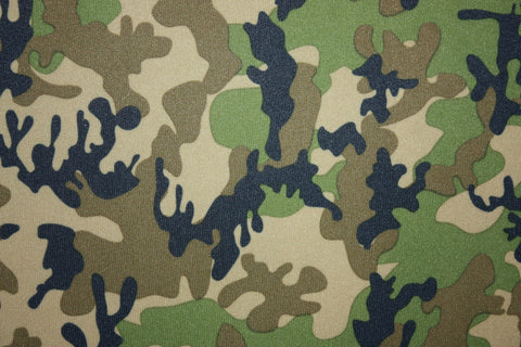 Babyville PUL Camo - Black Rabbit Fabric
