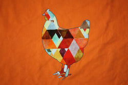 Geo Chicken Rapport - panel & cord together