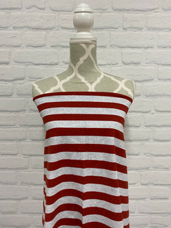 Red Heather Stripes