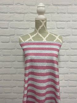 Pink Heather Stripes