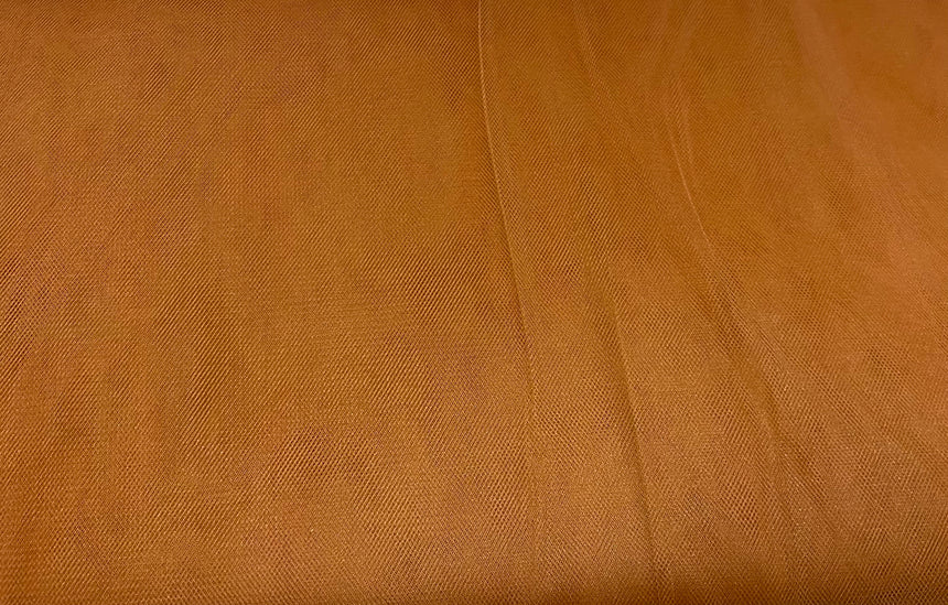 "Soft Nylon Tulle 137cm (53"") - Copper"