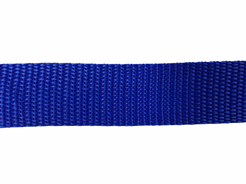 Polypro Webbing 25mm (1inch) - Royal