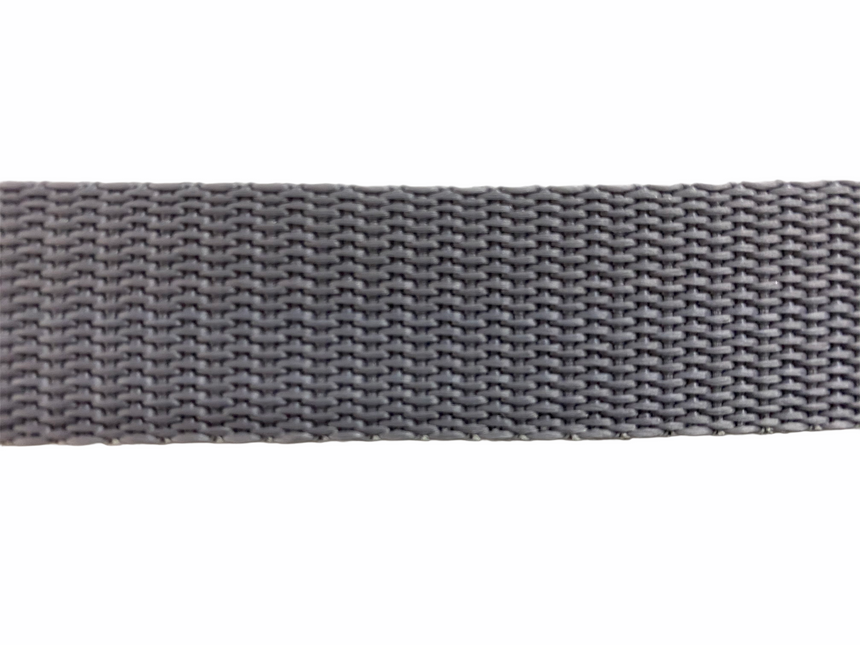 Polypro Webbing 25mm (1inch) - Light Grey