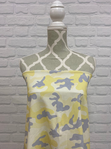 Yellow with Grey Camo