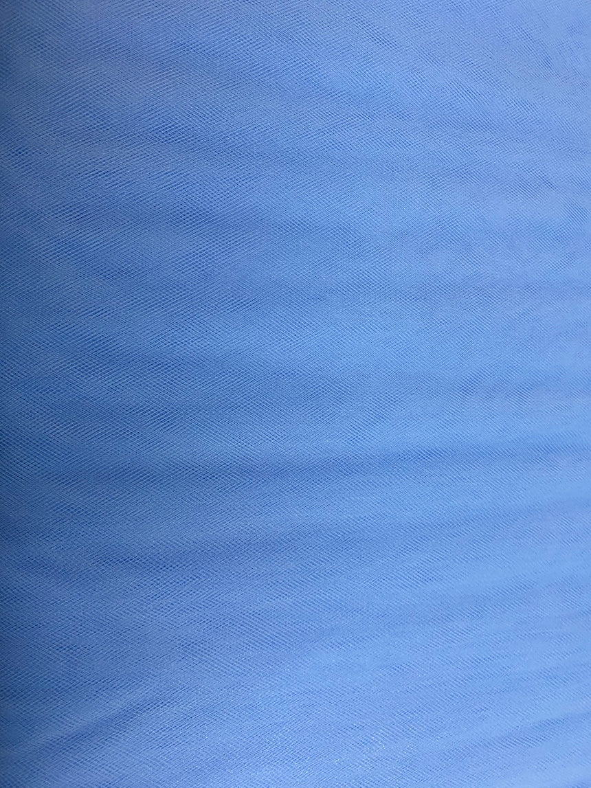 "Soft Nylon Tulle 137cm (53"") - Blue"