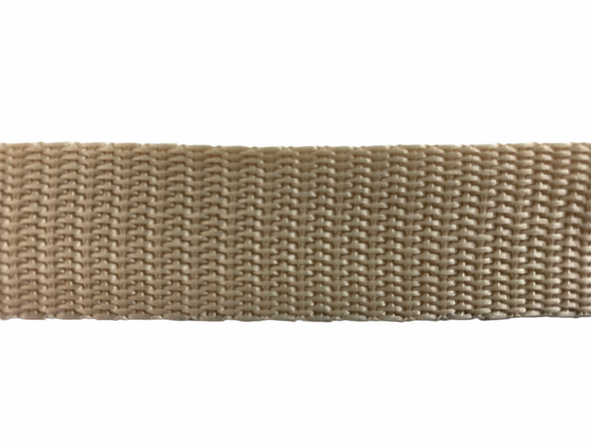 Polypro Webbing 25mm (1inch) - Tan